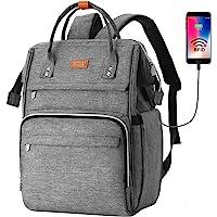 RJEU Rucksack Schule Damen,Schulrucksack Frauen,Laptop Rucksack mit 12-16 Zoll Laptopfach für Mädchen Teenager…