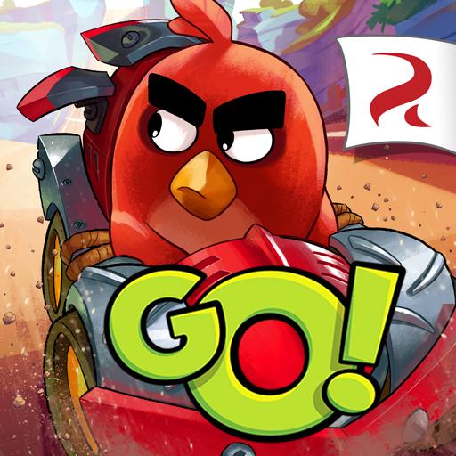 Angry Birds Go! Angry Bird-auto-spiel