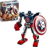 LEGO 76168 Marvel Super Heroes L'Armure Robot de Captain America Jeu incluant Figurine pour garçons et Filles de 7 Ans…