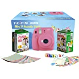 FujiFilm Instax Camera Mini 9 Bundle Pack (Flamingo Pink)