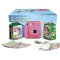 FujiFilm Instax Camera Mini 9 Bundle Pack (Flamingo Pink)