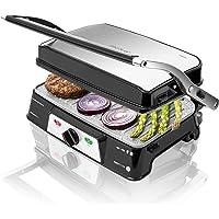 Cecotec Rock'n Grill 1500 Take & Clean - Gril Électrique, Revêtement RockStone, Amovible et Lavable au Lave-Vaisselle…