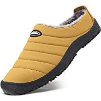 Mishansha Inverno Pantofole Scarpe da Casa Peluche Cotone per Uomo Donna Gr.35-46