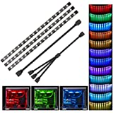 LED PC Tira - Speclux RGB Led Strip para caja de PC modding, control de la placa base, 12V 4pin RGB, compatible con Asus Aura