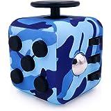 GreenBee Fidget Cube Anti Stress Enfant Adulte - Fidget Toys Objet Anti Stress Anxiété - Jouet De Decompression avec 6 Module