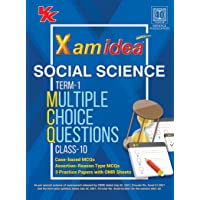 Xam Idea CBSE MCQs Chapterwise For Term I, Class 10 Social Science (With massive Question Bank and OMR Sheets for real…