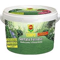 COMPO Solfato Ferroso, Concime a base di Ferro, Azione rinforzante e rinverdente, Consentito in Agricoltura Biologica, 5…