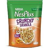 Nestlé NesPlus Breakfast Cereal - Crunchy Granola with Nutty Honey, 475g Pouch
