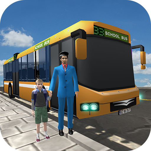 School Bus Driver: Kids Fun - School Apps Bus
