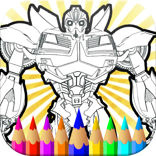 Bumble Bee Coloring Pages: Transformer