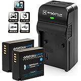 Patona Platinum (2X) - Ersättning för batteri Panasonic DMW BLG10 E (1000mAh) - Baxxtar Razer 600 II laddare 5in1 - för Lumix