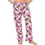 Underboss Scooby Doo All Over Pink Tie Dye - Pantalones de salón de felpa