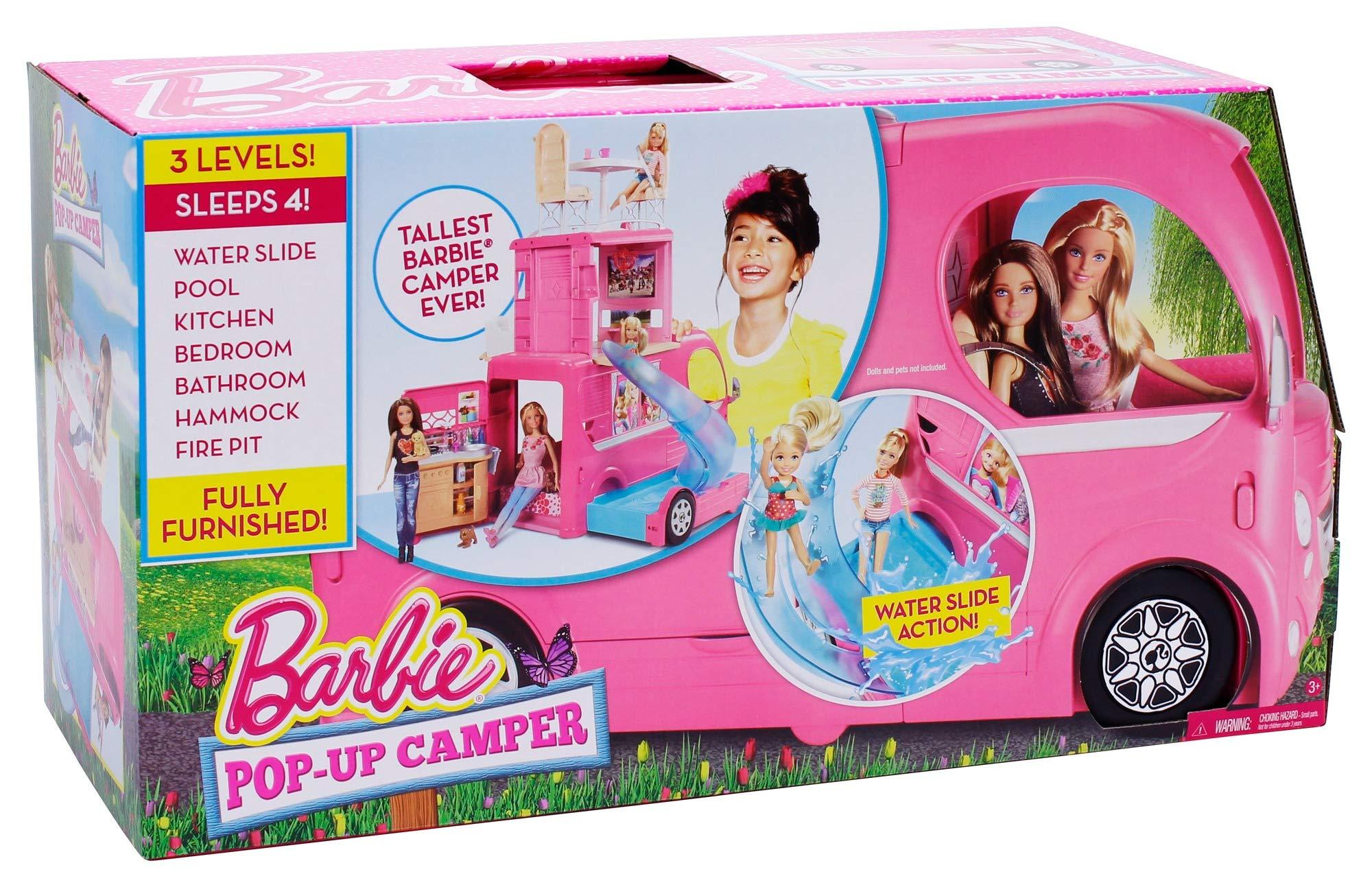 CaravanaAccesorios Barbie Las Cjt42 Para Muñecasmattel 3ulKFT1Jc