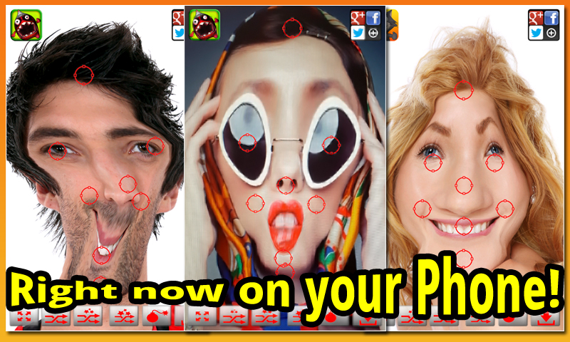 Warp My Face: Fun Photo Editor (Free)