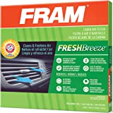 FRAM Fresh Breeze Cabin Air Filter with Arm & Hammer Baking Soda, CF11671 for Select Mazda and Ram Vehicles