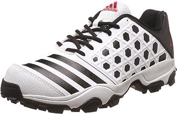 Adidas Men's Sl 22 Trainer16 White, Conavy and Syello Cricket Shoes