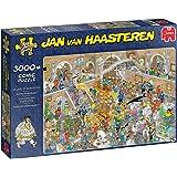 Jumbo 20031 Jan Van Haasteren-nyfikenhetskassett-3000 bitar pusselspel, flerfärgade