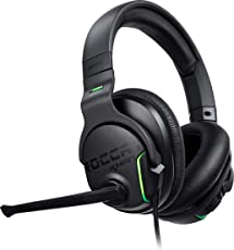 Roccat Khan Aimo 7.1 Surround Gaming Kopfhörer (Hi-Res Sound, USB, AIMO LED Beleuchtung, Real-Voice Mikrofon mit Mute-Funktion) schwarz