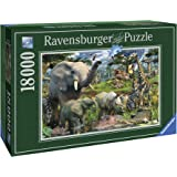 Ravensburger 17823 - David Penfound At the waterhole - 18000 Teile Puzzle (276x192 cm)