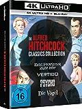 Alfred Hitchcock Collection - Das Fenster zum Hof + Vertigo + Psycho + Die Vögel [Blu-ray]
