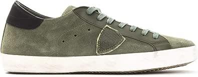 Philippe Model Sneakers Paris L UVEAU Uomo Scarpa 100% Pelle Made in Italy CLLUXY49-41