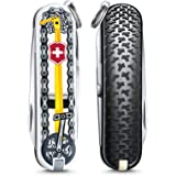Victorinox Classic 0.6223.L2001, L2001-Bicicletta Ride, Edizione Limitata Unisex-Adult, Yellow, Standard