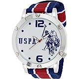 U.S. Polo Assn. Mens Quartz Watch, Analog Display And Nylon Strap - USC57003