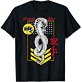 Cobra Kai Kanji Cobra Patch Maglietta