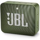 JBL GO 2 - Mini Enceinte Bluetooth portable - Étanche pour piscine & plage IPX7 - Autonomie 5hrs - Qualité audio JBL - Vert