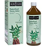 Kapiva Rajasthani Neem Juice | Natural Juice made from Fresh Neem Leaves | Healthy Hair & Skin | No Added Sugar, 1L