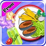 Chips de friture de poissons Maker - Jeux de cuisine pour les filles enfants