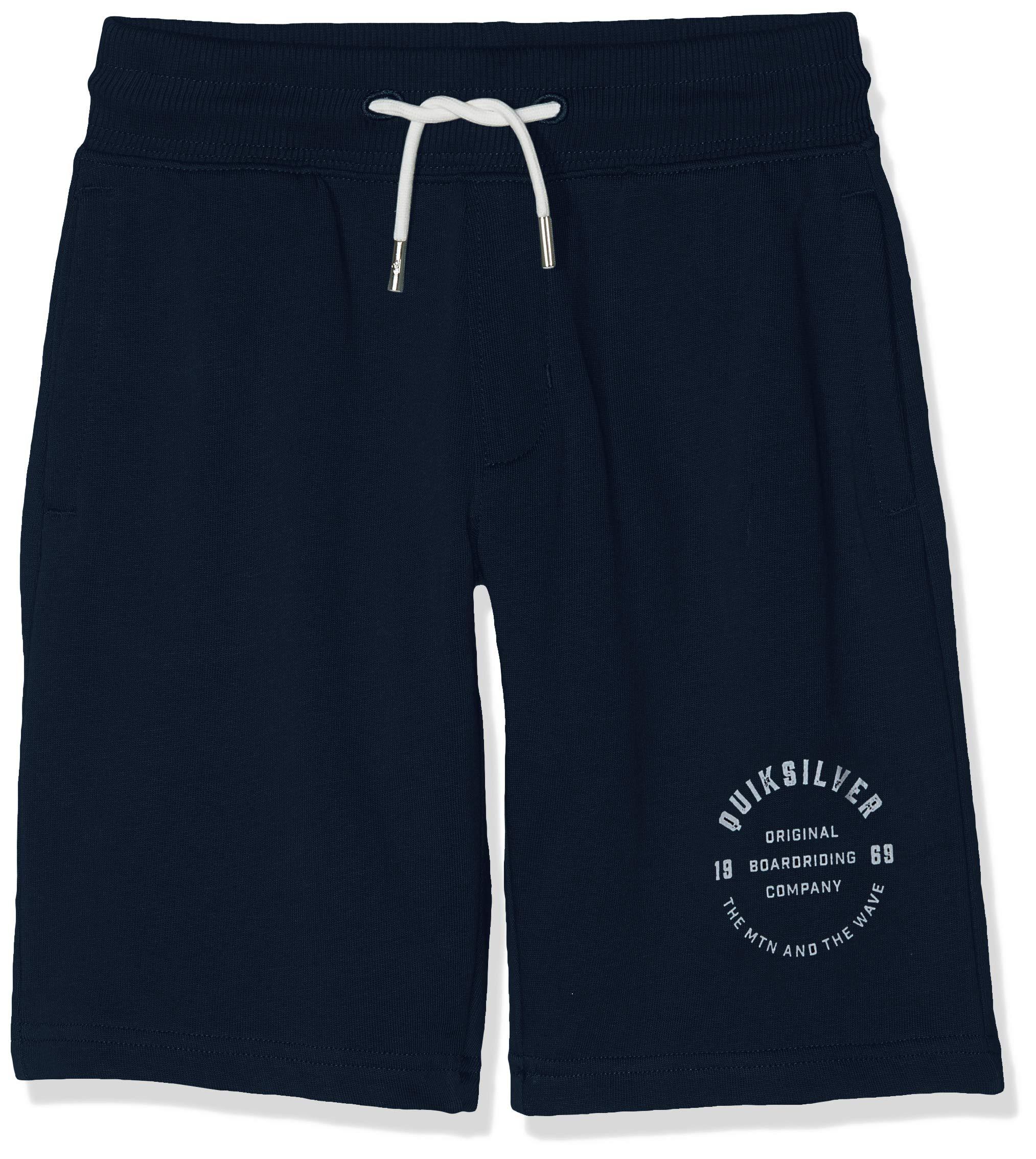 Quiksilver Jungen Everyday Track Short Youth Fleece Bottom, Navy Blazer, XS/8