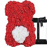 Gåvor till kvinnor – Rose nallebjörn – rosenbjörn, unika gåvor, presenter till flickor, presenter till mödrar, födelsedagspre