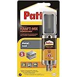 Pattex Kraft-Mix metaal, metaalverf uithardende 2-componenten epoxy lijm op basis van epoxyhars, sterke lijm voor het verlijm