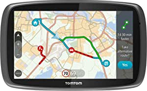 Tomtom Go 510 5 Inch Sat Nav With World Maps And Lifetime Map And Traffic Updates Via Smartphone Connectivity Navigation Car Hifi