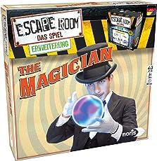 Noris 606101798 Escape Room Erweiterung The Magician, nur mit dem Chrono Decoder Spielbar