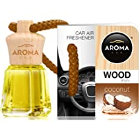 Aroma Car Désodorisant Mini Wood Coconut 4Ml