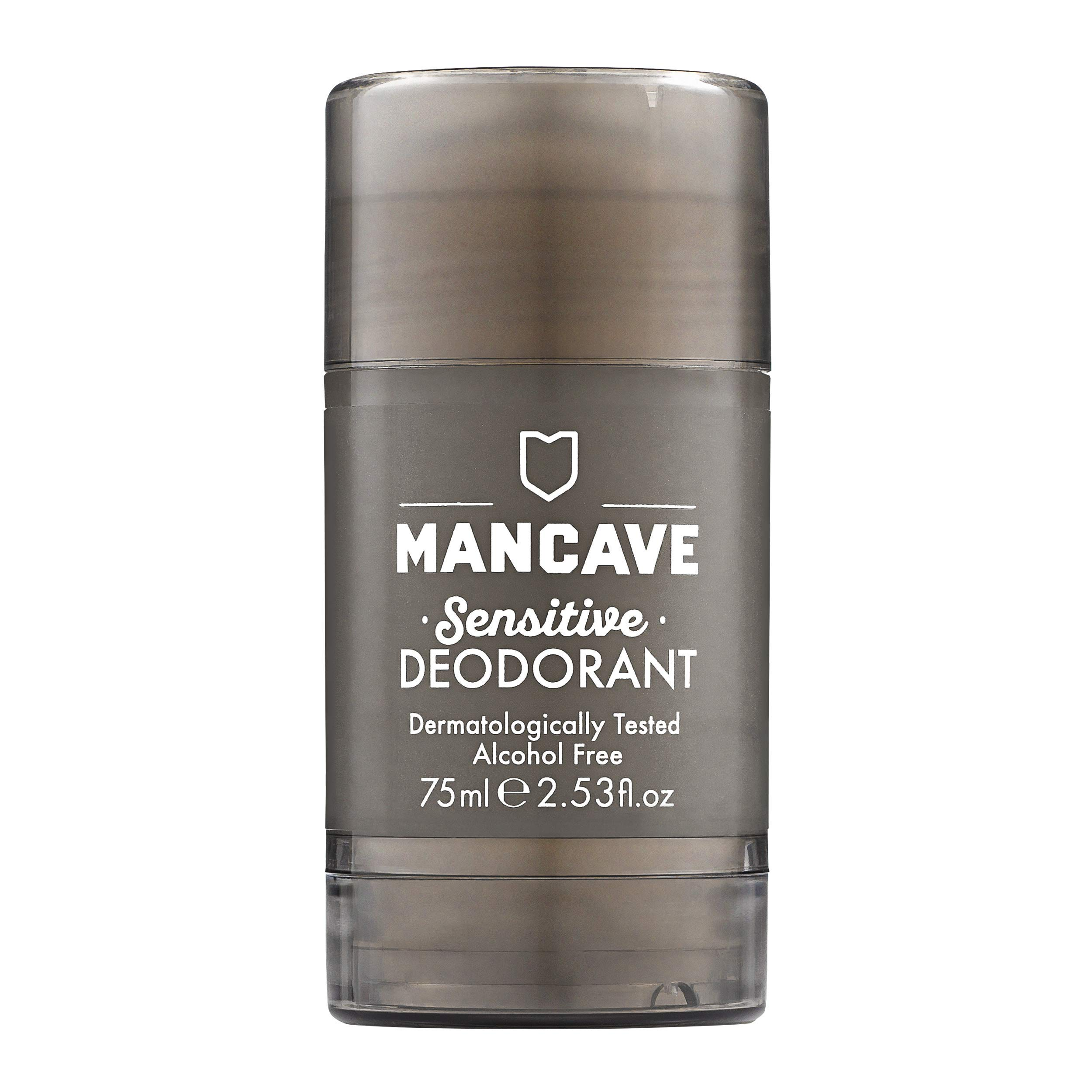 Mancave White Tea Deodorant 75ml – Aluminium & Alcohol Free, Suitable for Sensitive Skin