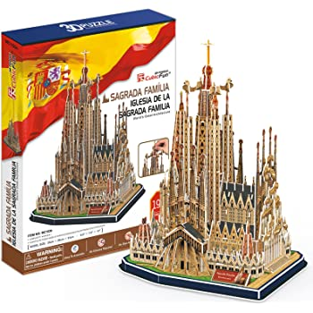 CUBIC FUN MC153h - 3D Puzzle La Sagrada Famiglia - Barcellona - Spagna