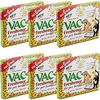 6 x Packs of New Vac Disc Freshener for All Vacuum - Summer Meadow - Cleaners 36 Fresheners