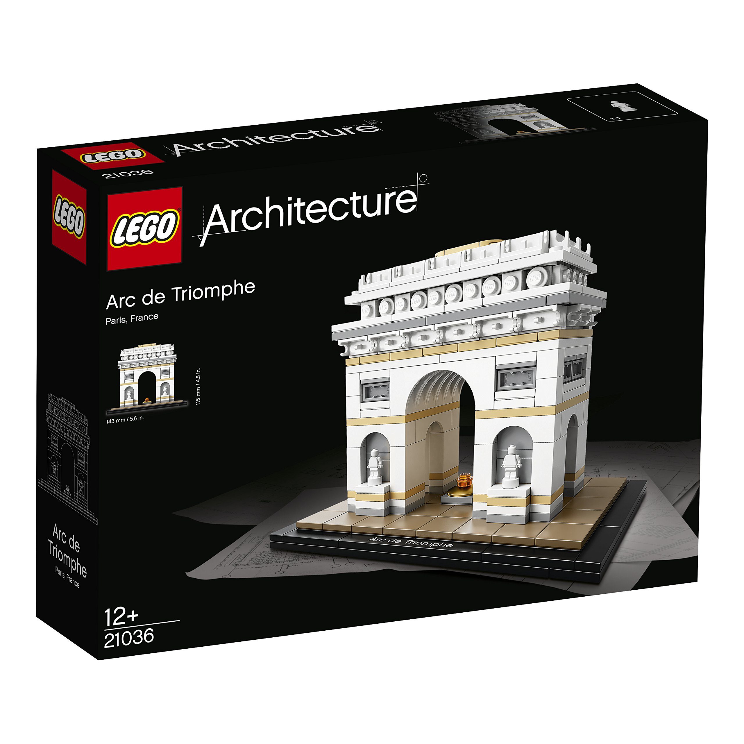 Lego Sets for Adults Architecture Models Arc de Triomphe with