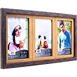 AJANTA ROYAL Synthetic Wood Wall Photo Frame (Beige_22 X 10 Inch)