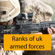 Ranks of uk armed forces