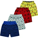 MIST N FOGG Boys & Girls Sports Shorts (Pack of 4)