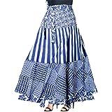 Trendy Fab Women's Cotton Regular Fit Printed Long Skirt (Multicolour | 2XL)