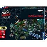 KOSMOS 697976 - Krimi Puzzle: Die drei ??? - Die Villa der Rätsel, Leuchtet im Dunkeln, 300 Teile mit UV-Lampe, Lesen…