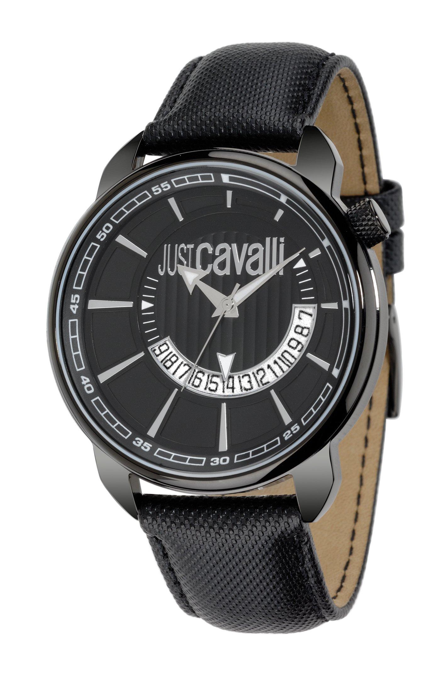 Just Cavalli Reloj analogico para Hombre de Cuarzo con Correa en Piel R7251181025