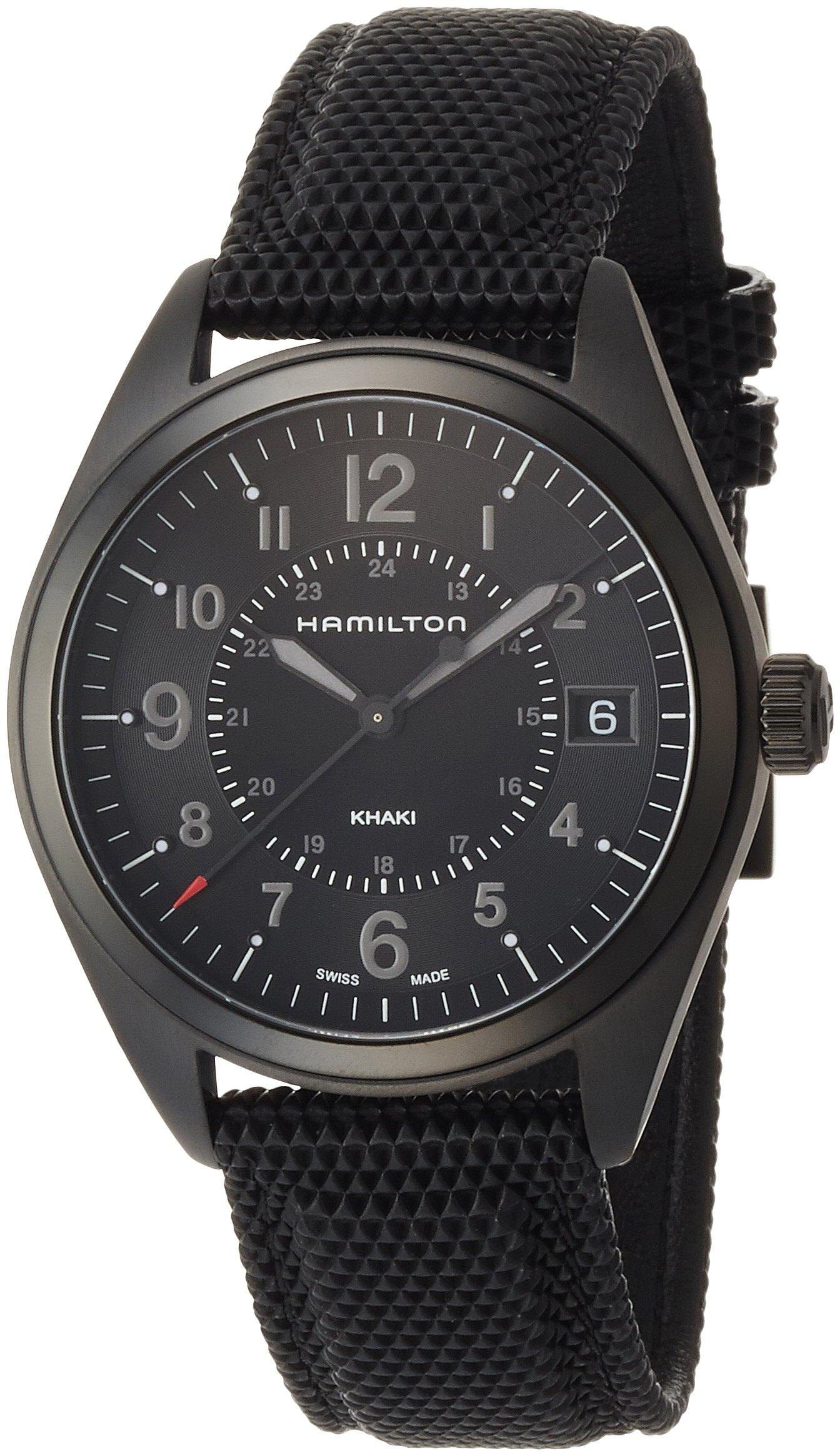 Hamilton Men's Analogue Quartz Watch with Textile Strap H68401735