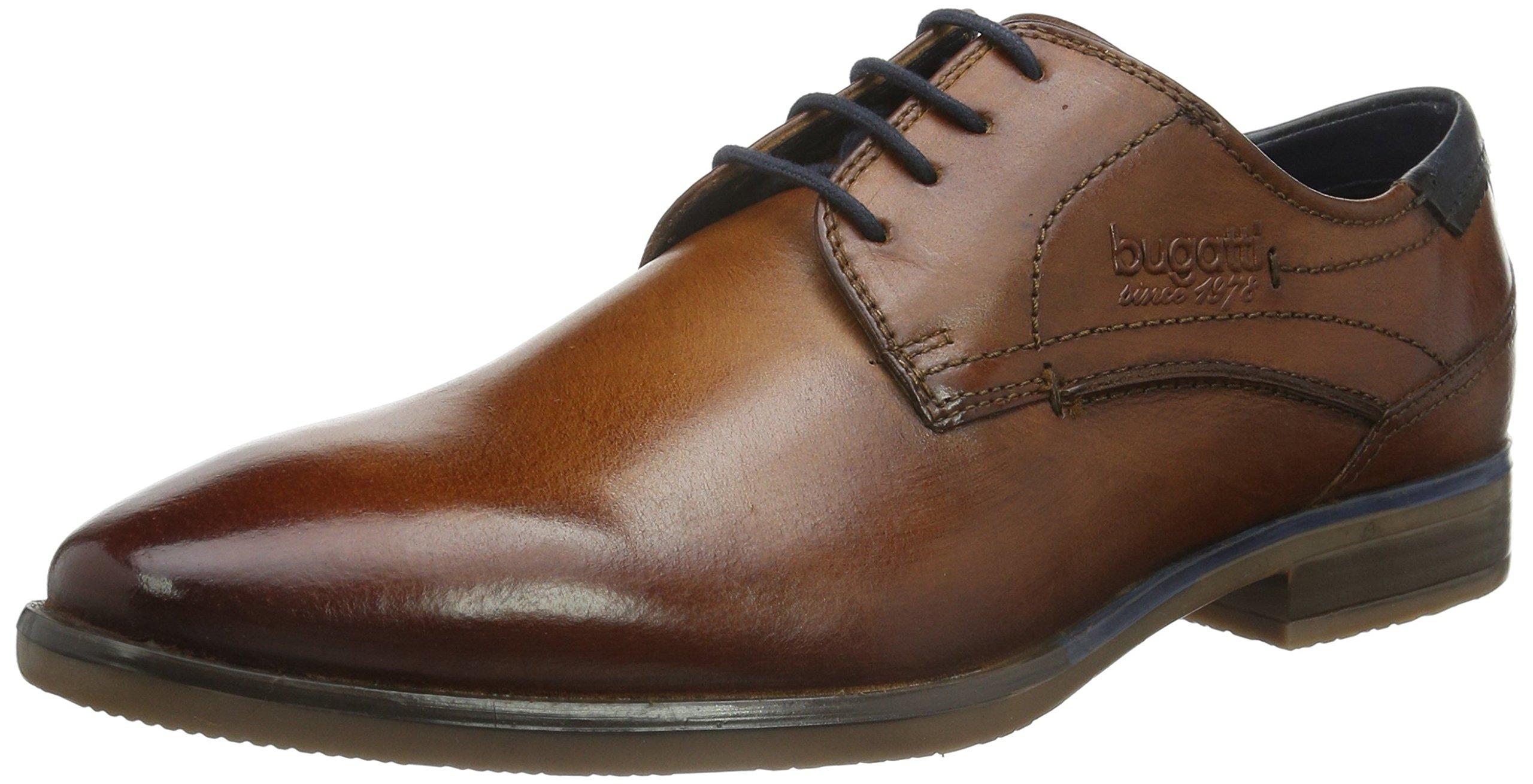 (TG. 43 EU) Bugatti 312167012100 - Scarpe Stringate Uomo, Marrone (R3R) Scarpe classiche da uomo