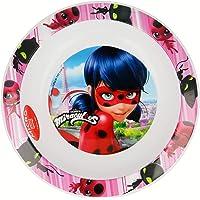 STOR Kids Micro Deep Plate Miraculous Ladybug Assiette Mixte